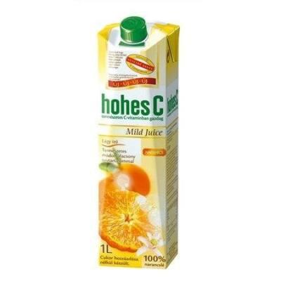 Gyümölcslé HOHES C Mild narancs 100%-os 1L