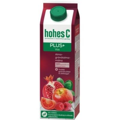 Gyümölcslé HOHES C Plus red multivitamin 100%-os 1L