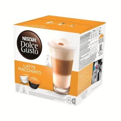 Kávékapszula NESCAFE Dolce Gusto Espresso Latte Machiato Caramel 2x8db